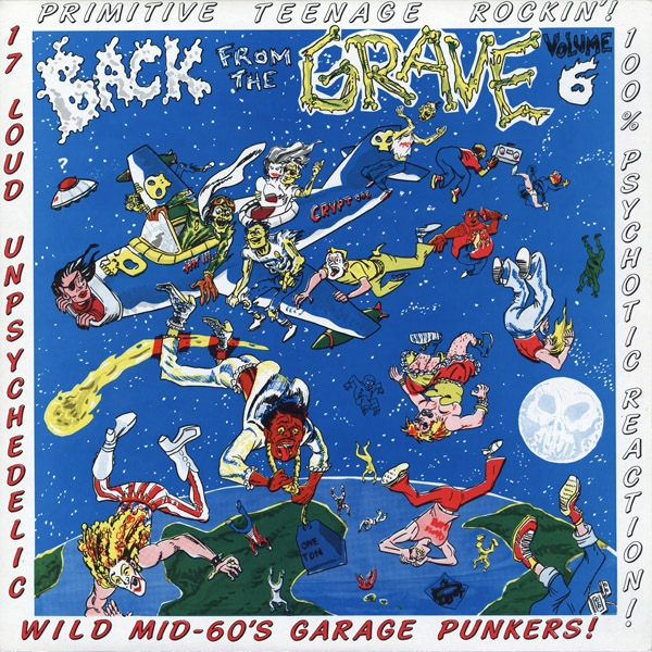 Mid-60s Garage Punkers | VA: BACK FROM THE GRAVE Vol. 6 LP