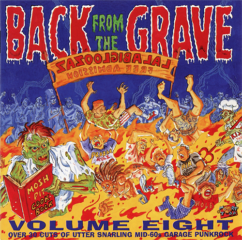 VA: BACK FROM THE GRAVE Vol.8 2x LP